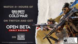[PC] Gratis Early Acces Beta Call of Duty Black Ops Cold War