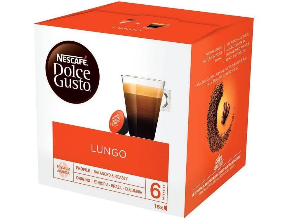 Nescafé Dolce Gusto Lungo Capsules (16 cups) @ Media Markt