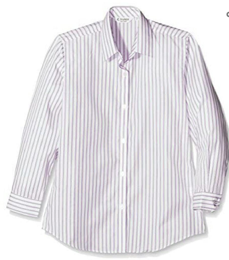 Clive James Clynick Meisjes blouse 2Pk Contemp Blouse,Outstanding Pur/Wht,3