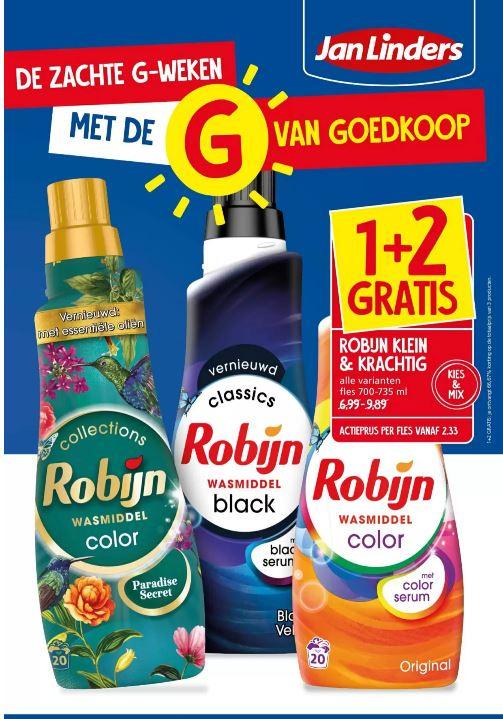 Robijn klein & krachtig 1+2 bij Jan Linders