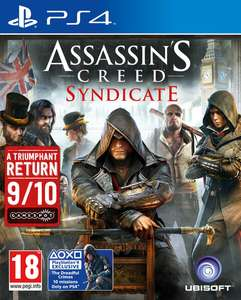 Assassins Creed: Syndicate (PS4/Xbox One) voor €32,53 @ Zavvi.nl