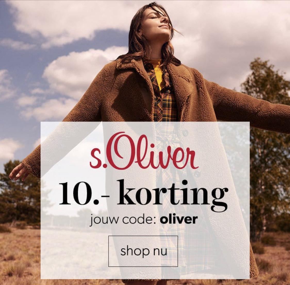 Kortingscode s.Oliver bij Wehkamp