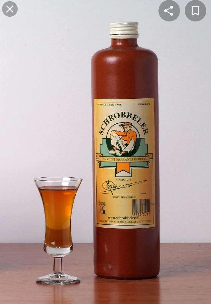 [lokaal] 1 + 1 gratis: Schrobbelèr Tilburgse kruidenlikeur, 700 ml. bij Coop Besterdring