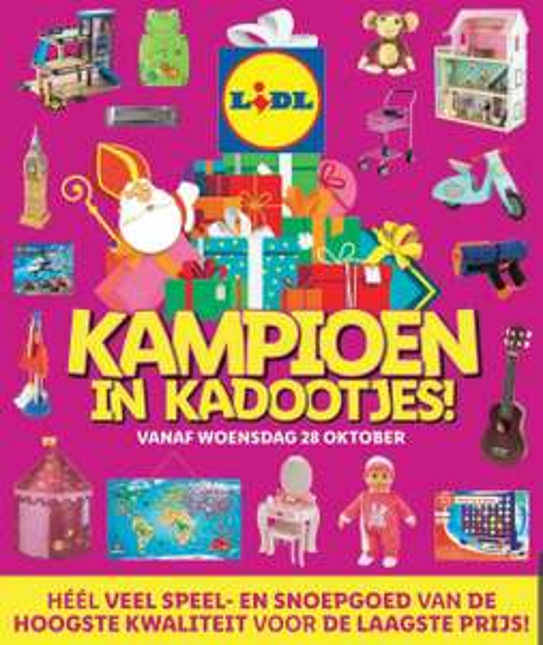[vanaf 28 Oktober] Lidl - Kampioen in Kadootjes! (SINTERKLAAS EDITIE) prijsjes v.a.