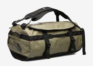 Th North Face duffel base camp S olijf groen