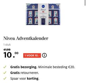 Nivea adventkalender 2019