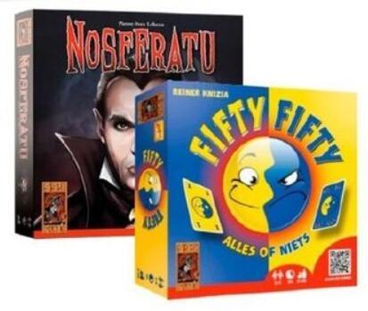 Nosferatu of Fifty Fifty gezelschapsspel €5,99 p.s. @ Big Bazar winkels