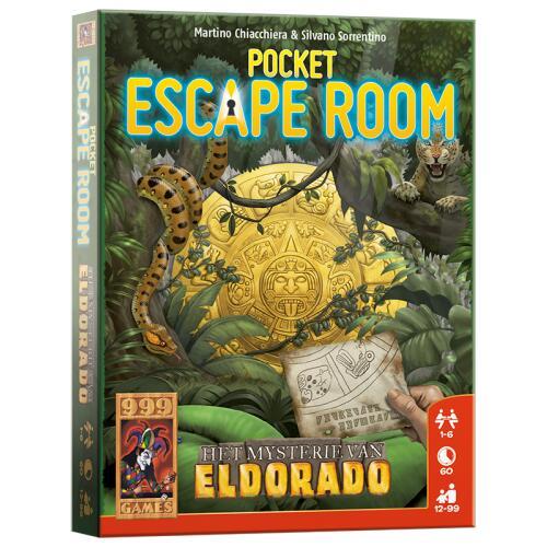 999 games Pocket Escape Room Het Mysterie van Eldorado voor €5,99 @ Kruidvat