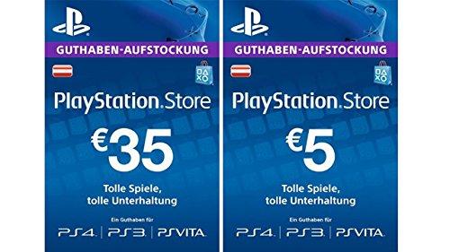 PlayStation Store Tegoed €35 + €5 gratis  [PSN Code] @ Amazon.de