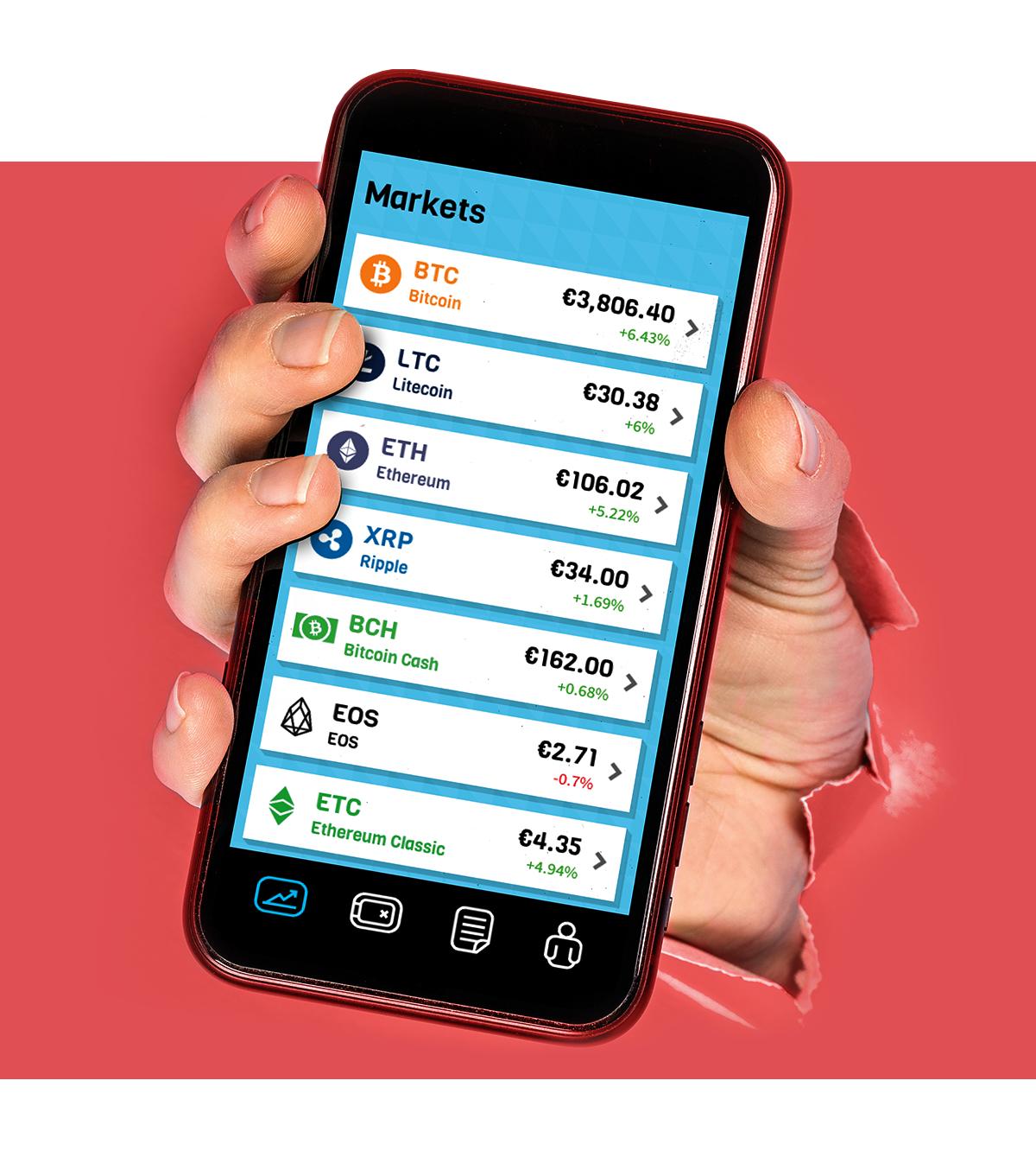 BLOX app - 10 euro crypto krijg je van ons!