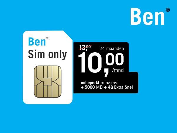 Ben - Sim Only Deal (ING Rentepunten)