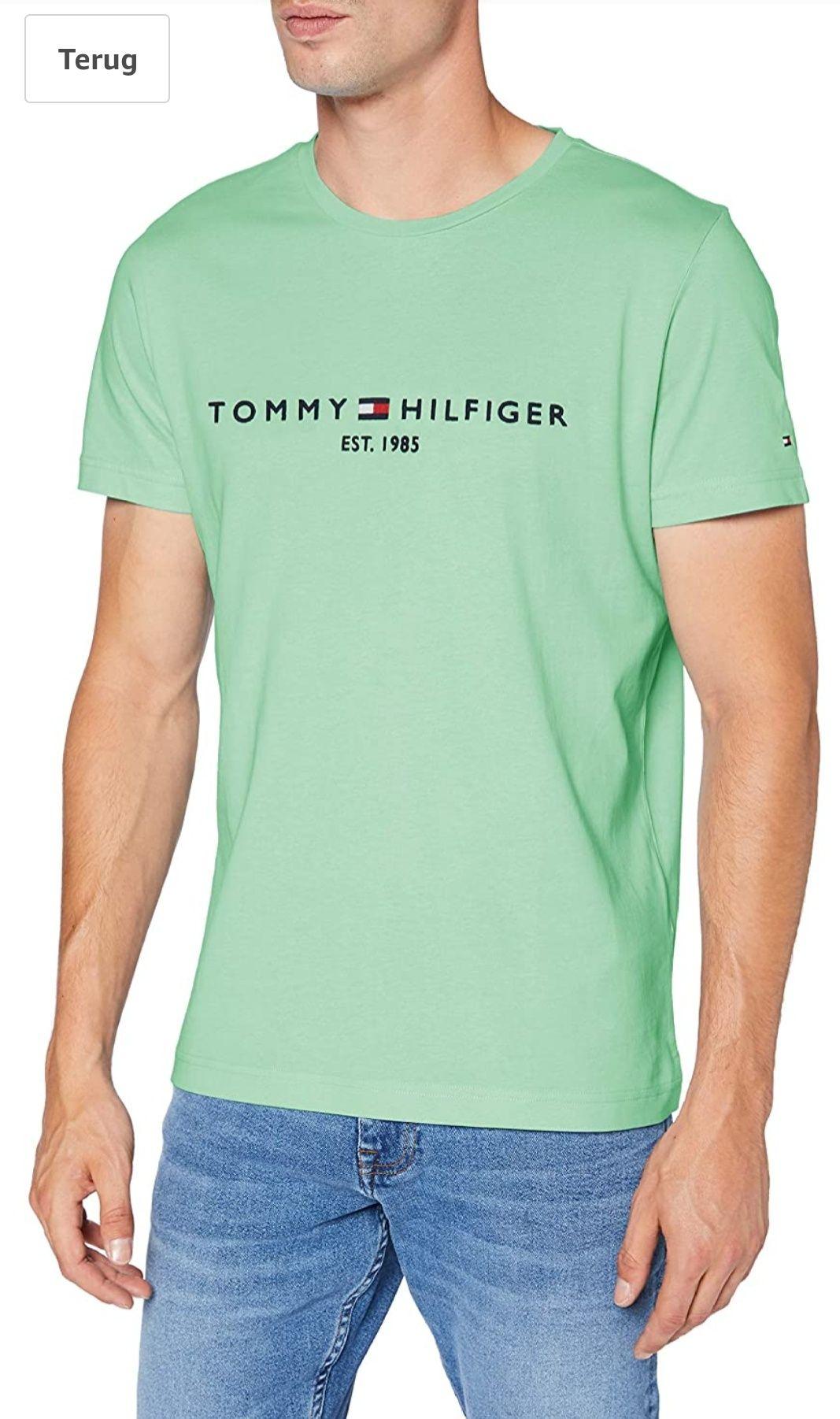 Tommy Hilfiger T-shirt (Mint Groen)