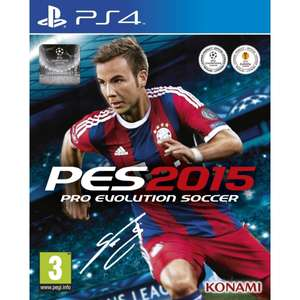 Pro Evolution Soccer 2015 (PS4/Xbox One) (Pre-order) voor € 39,99