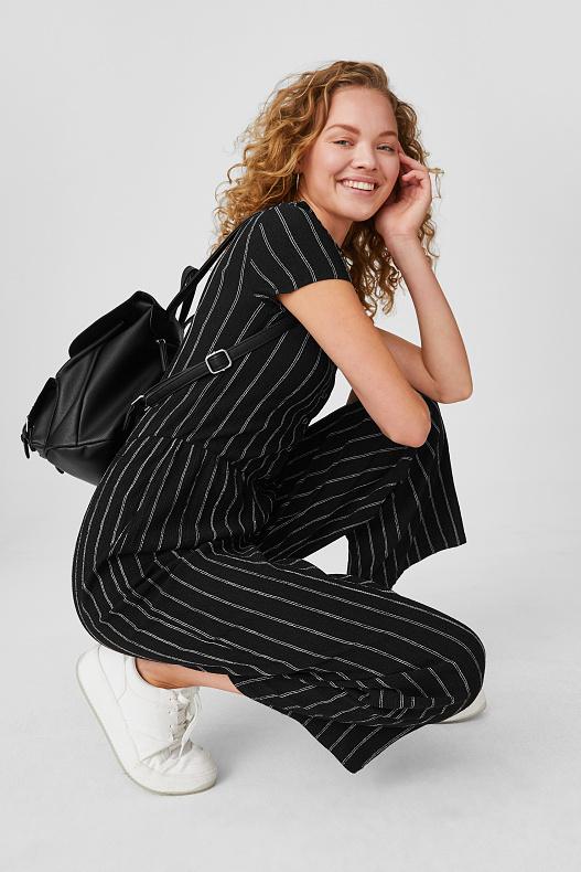 Zwart Jumpsuit voor €9,99 (was €19,90) @ C&A