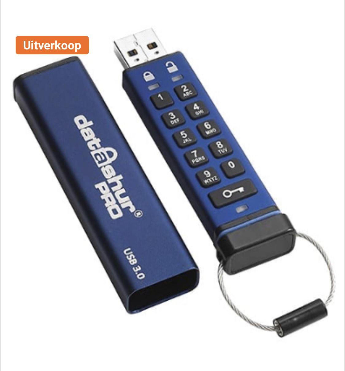 iStorage USB 3.0 USB-stick datAshur PRO 8 GB