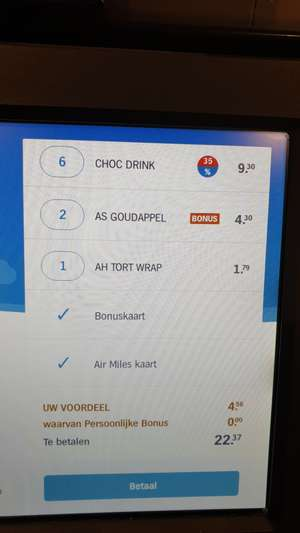 Albert Heijn chocomelk 6-pack