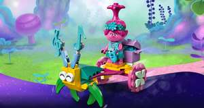 Gratis LEGO Trolls Poppy's koets bij elke LEGO Trolls aankoop vanaf €30,-