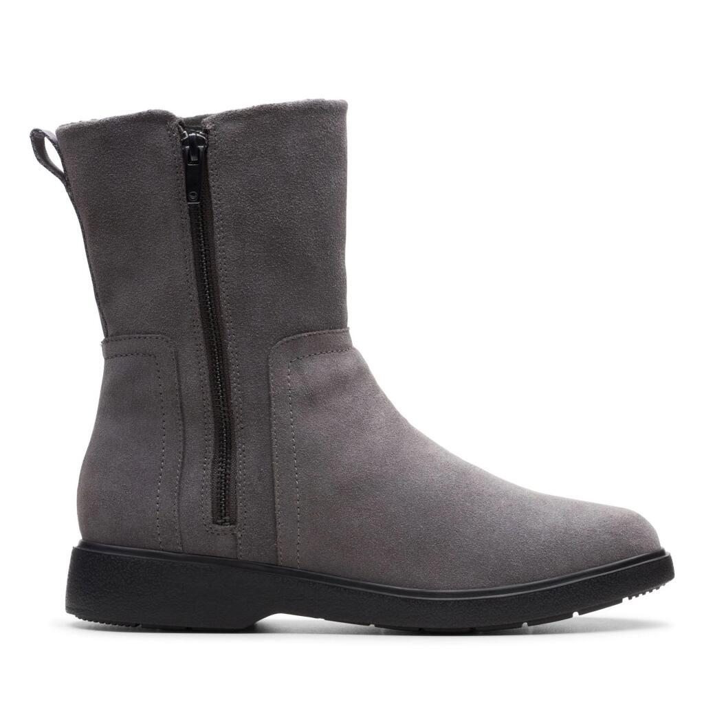 Clarks Un Elda Mid grijs laarzen voor €18,50 @ Amazon.nl