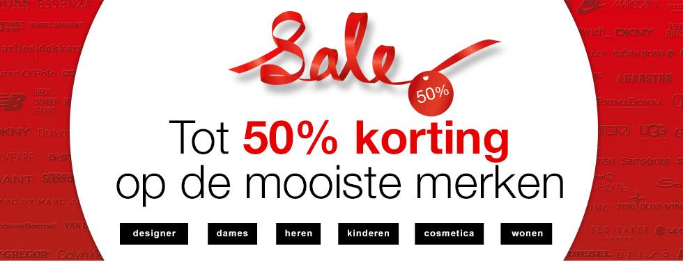 SALE tot 50% @ de Bijenkorf