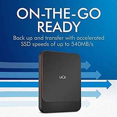 Lacie Portable SSD Usb-C 500Gb Sthk500800