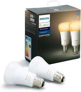 Philips Hue 2x White Ambiance E27 (Bluetooth)