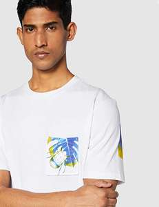 HUGO BOSS wit heren T-shirt Texray