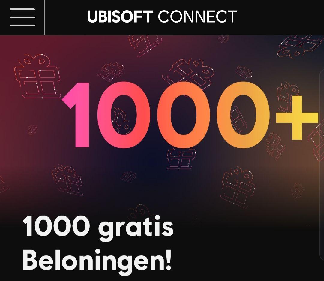 Gratis meer dan 1.000 in-game content ter viering van Ubisoft Connect