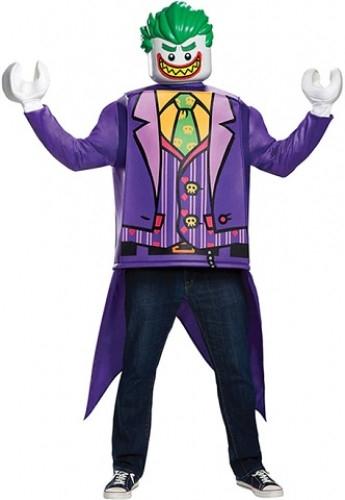 LEGO The Joker kostuum (Maat L-XL)
