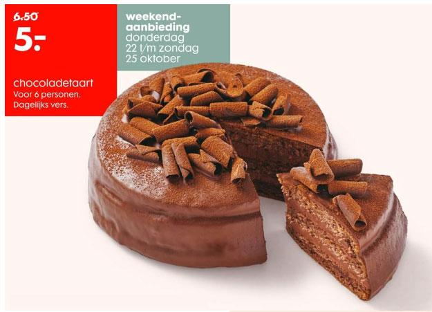 Chocoladetaartje €5 @ HEMA