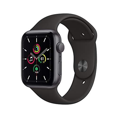 Apple Watch SE - 44 mm space grey (en zilver)