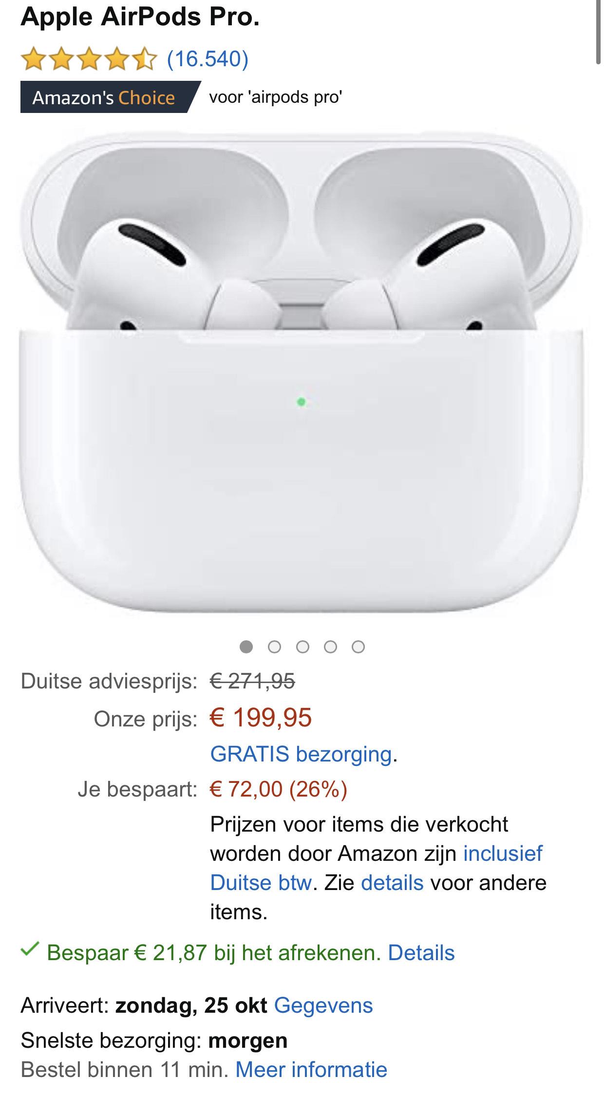 Apple Airpods Pro @AmazonDE