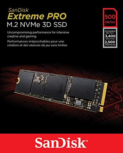 [amazon.de] SanDisk M.2. Extreme Pro 3D SSD 500gb