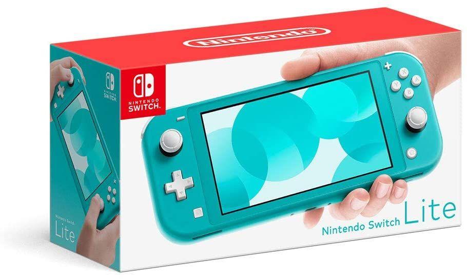 Nintendo Switch Lite Blauw of Grijs