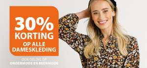 Alle damesmode -30% + 10% EXTRA @ terStal