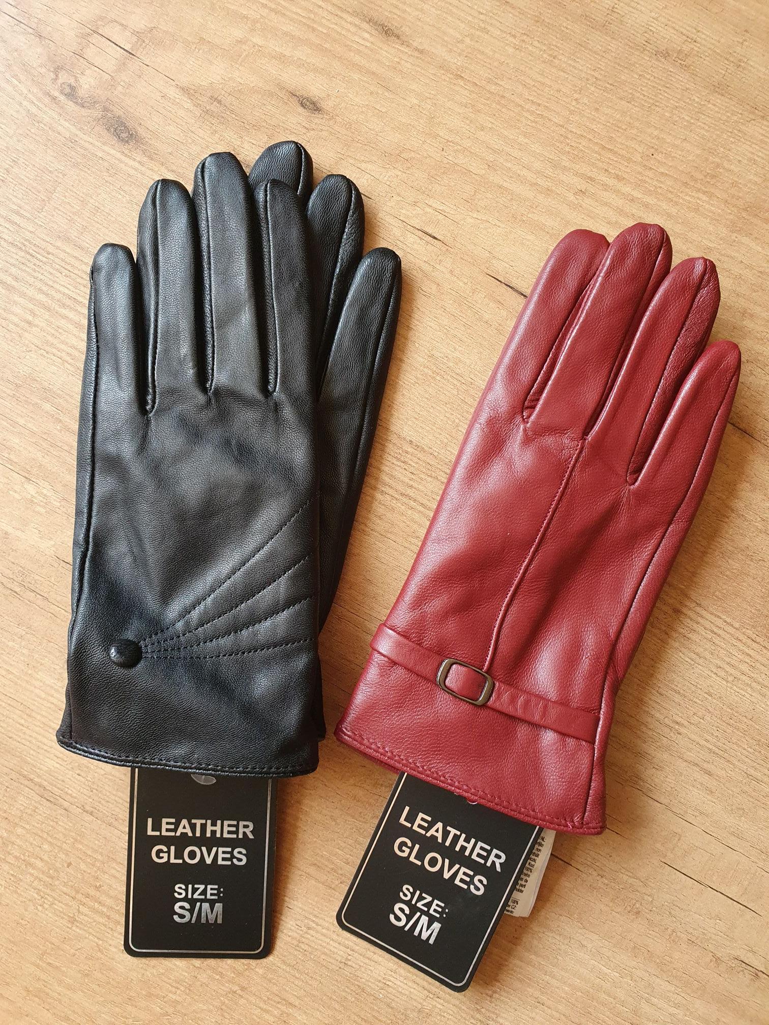 Leren handschoenen bij Action