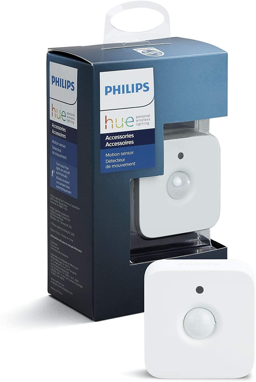 Philips Hue Bewegingssensor, draadloos, wit met licht- en temperatuursensor