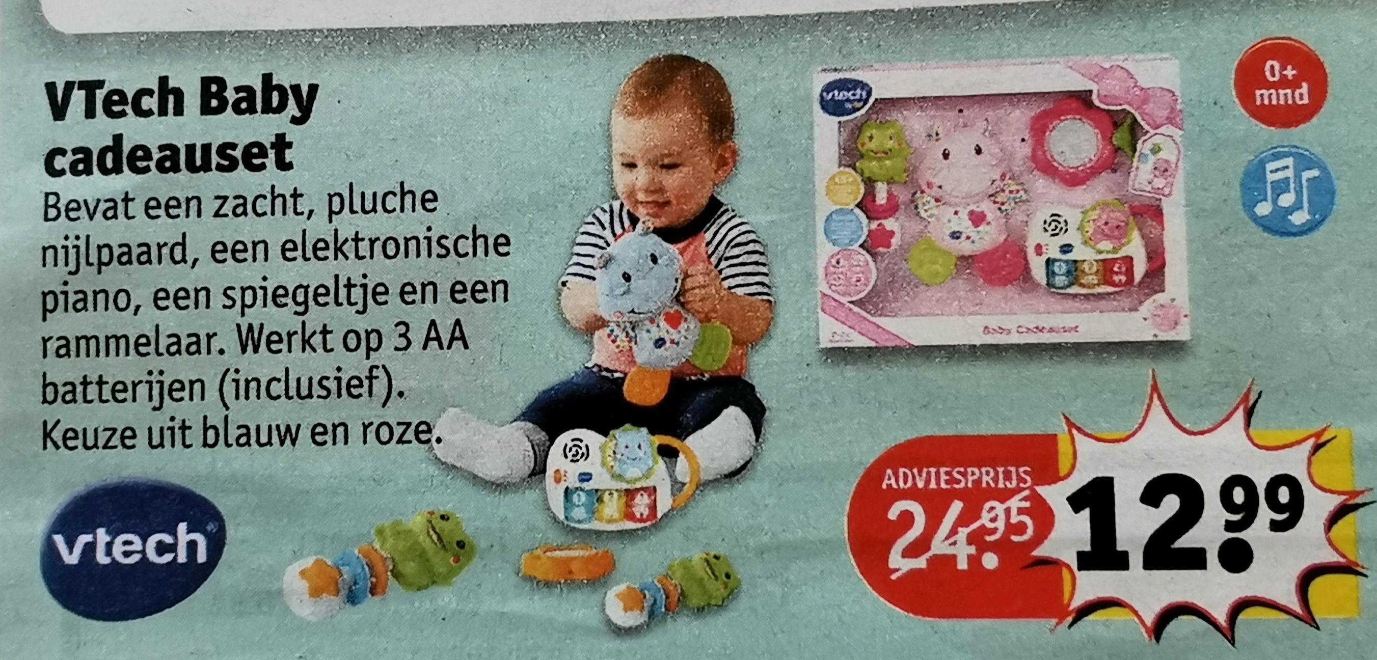 VTech Baby Cadeauset (blauw en roze) @ Kruidvat