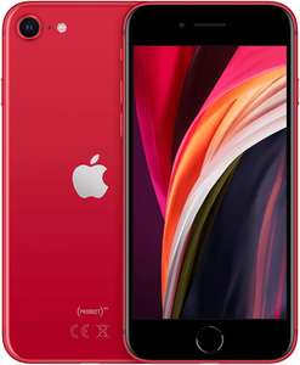 iPhone SE (2020) 64GB Rood @Amazon.de