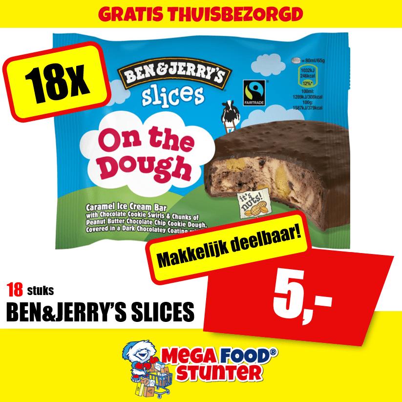 [Apeldoorn] 2 dozen (36st) GRATIS Ben & Jerry's @Megafoodstunter