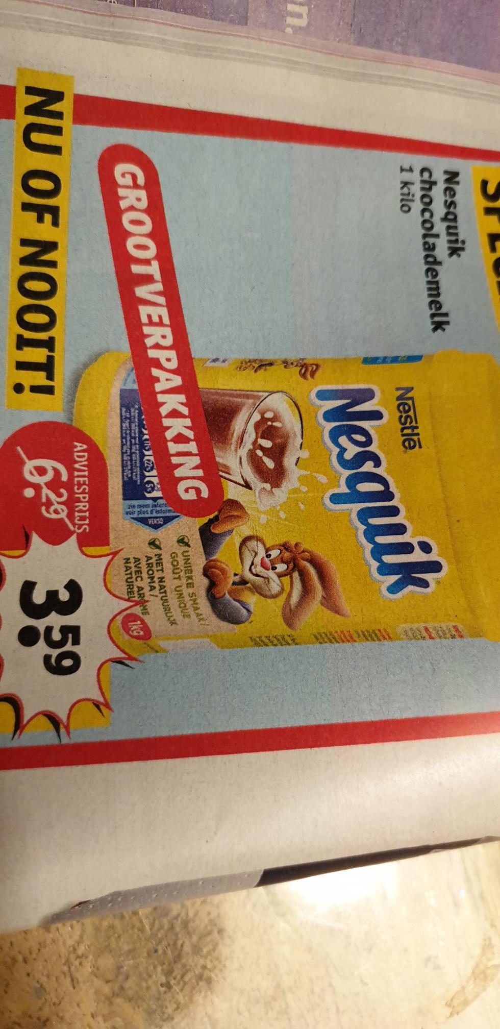 Nesquik chocolademelk 1kg