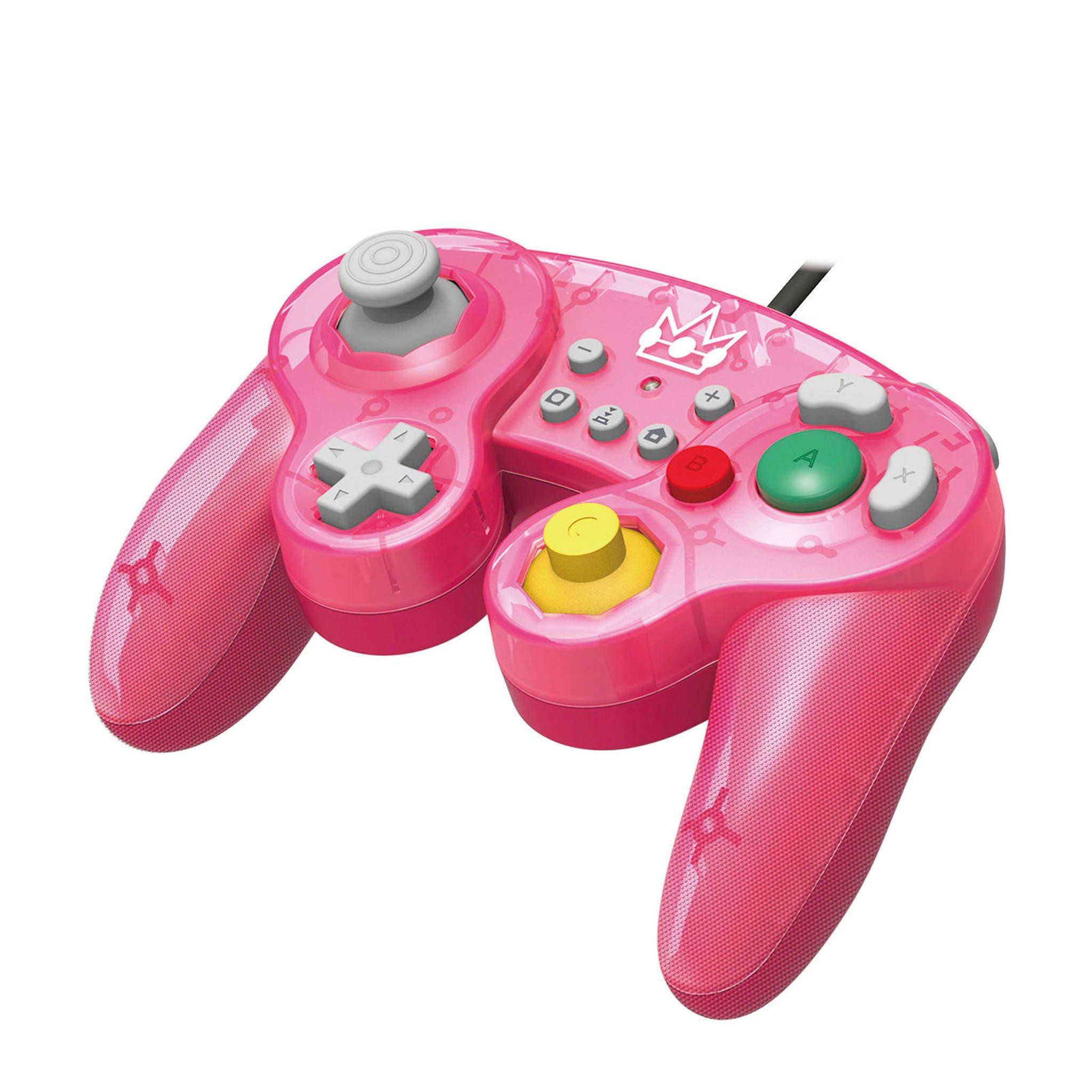 Nintendo Switch Controller - Hori - Smash Bros Gamepad Peach @ Wehkamp