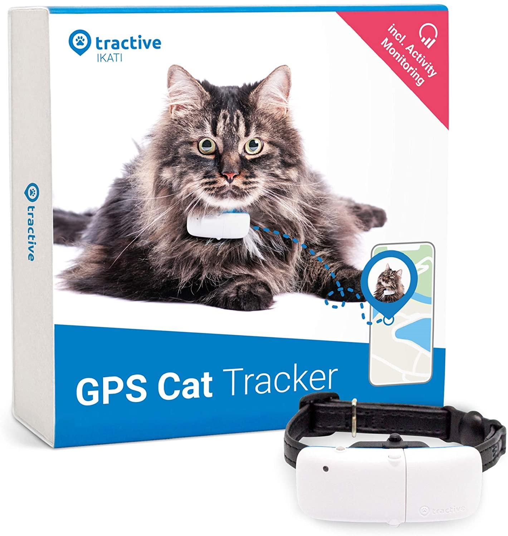 Tractive GPS-Halsband voor Katten