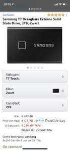 Samsung T7 Touch 2TB