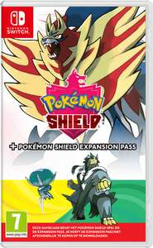 Pokémon Shield of Pokémon Sword + expansion pass