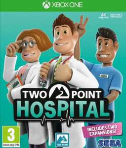 Two Point Hospital Xbox PS4 en Switch