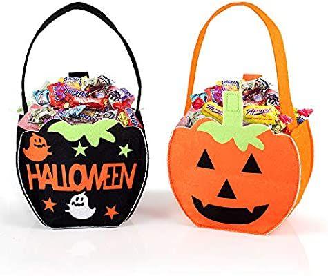 Halloween tassen voor snoep ophalen!
