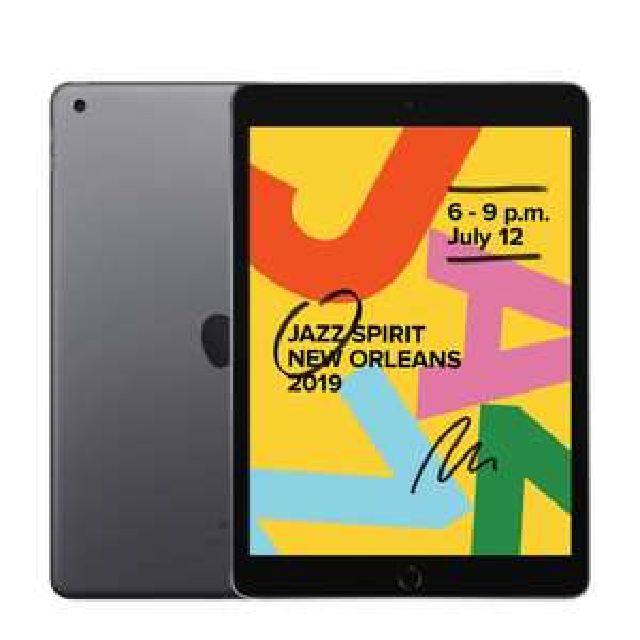 Apple iPad 2019 - 128GB Wifi (Space Gray) US model + NL stekker @ Wehkamp