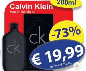 Calvin Klein Be Eau De Toilette 200ml @ Die Grenze