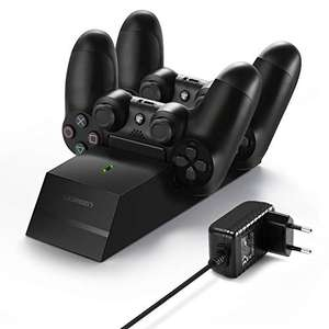 UGREEN laadstation voor PS4 dualshock controller voor €9,67 @ Amazon.de