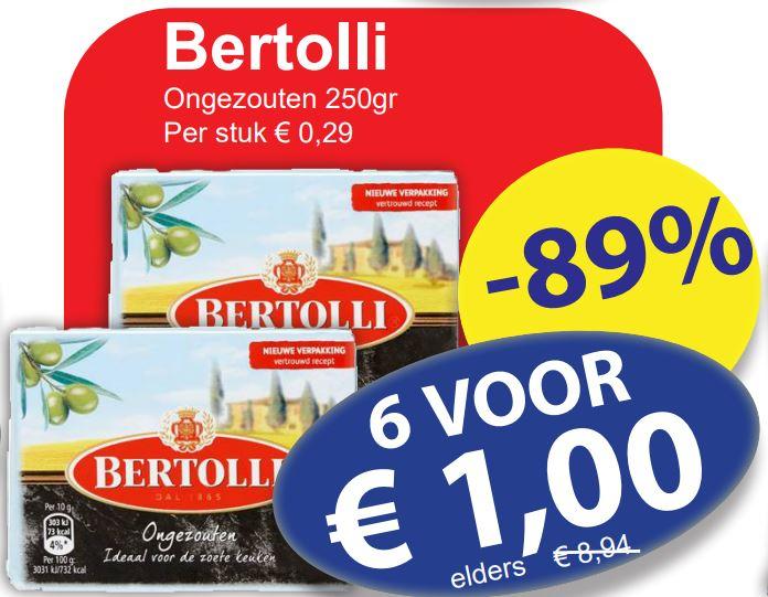 Bertolli Margarine ongezouten 6 * 250g @ Die Grenze